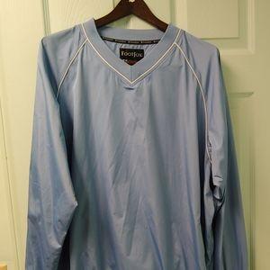 FootJoy Mens Long Sleeve V Neck Pullover. Size L.